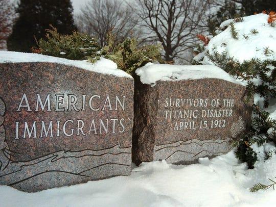 Gravestones in Lannon's Sunnyside Cemetery mark the