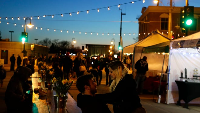 Realtor.com says Appleton is the No. 1 spot for millennial home-buying in the nation. The rise in entertainment options, like the Bazaar After Dark night markets, could be among the reasons why.