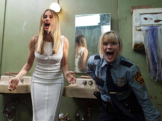 """Sofia Vergara and Reese Witherspoon star in the buddy film """"Hot Pursuit."""""""