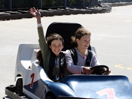 A new go-kart track at Summerland near St. Cloud gives