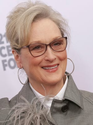 Meryl Streep said she will wear black to the Golden Globes to protest sexual misconduct.  (Photo by Brent N. Clarke/Invision/AP)