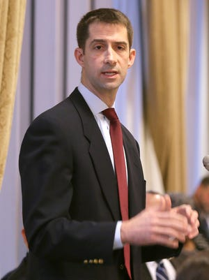U.S. Senate candidate Tom Cotton will visit Baxter County Republican Headquarters on a campaign stop at 1 p.m. today.