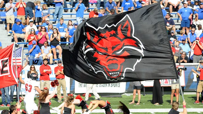 Arkansas State Red Wolves at Liberty Bowl Memorial.