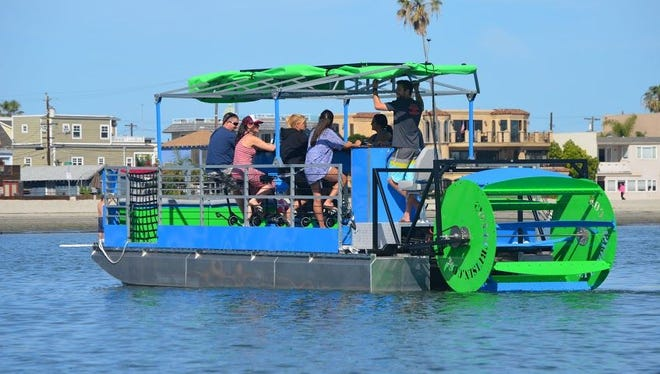 Detroit Cycle Boat will begin offering tours in May 2016 on Lake St. Clair, departing from St. Clair Shores.