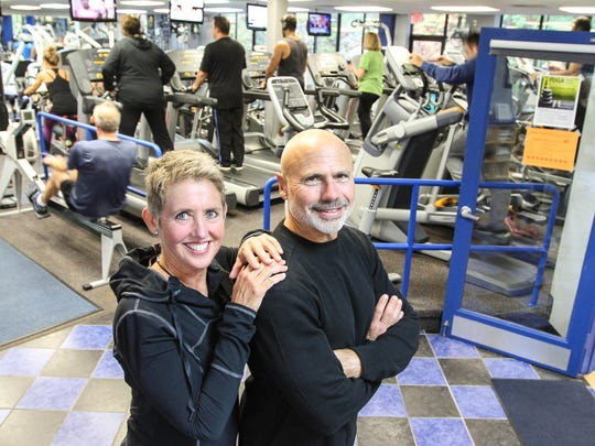 Katy and Rick Leonard are co-owners of Black Bear Fitness in the Lake Hopatcong section of Jefferson Township.