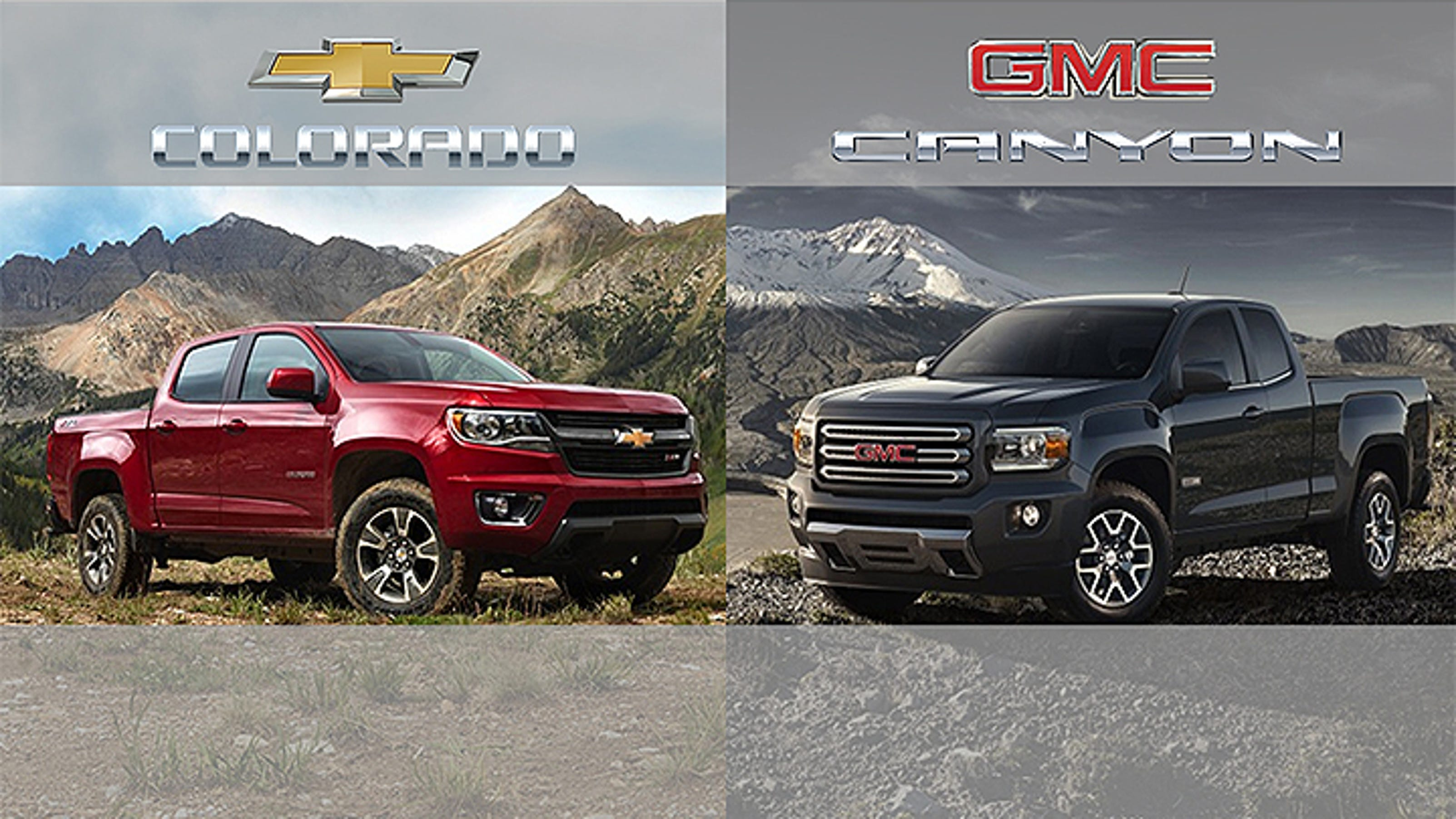 Chevy Colorado GMC Canyon offer 27 mpg highway The Detroit News
