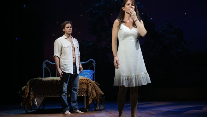 """Steven Pasquale and Kelli O'Hara star in """"The Bridges of Madison County."""""""