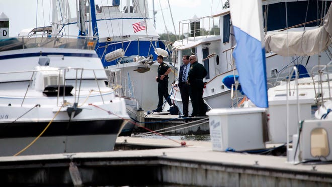 The Lee County Sheriff's Office is investigating two deaths at Salty Sam's Marina on San Carlos Island.