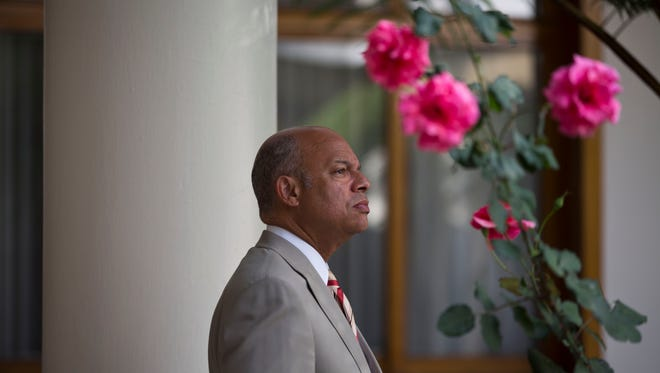 United States Homeland Security Secretary Jeh Johnson said U.S. Immigration and Customs Enforcement will run out of money by mid-August and Customs and Border Protection will run out of funds by mid-September.