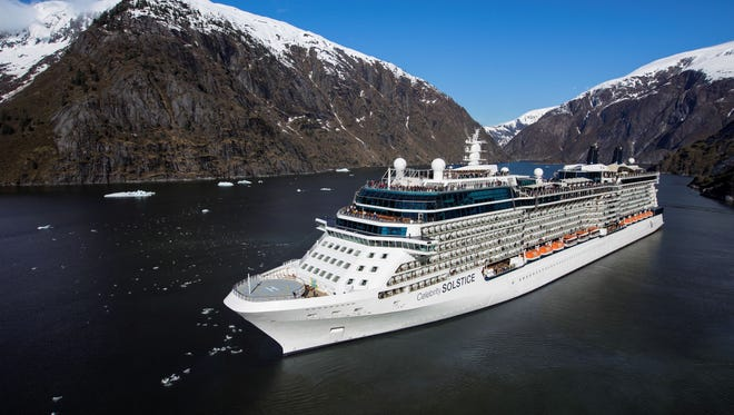 Solstice in Tracy Arm - Alaska Celebrity Solstice - Celebrity Cruises