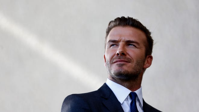 David Beckham is looking forward to starting a team from scratch and putting his mark on it.