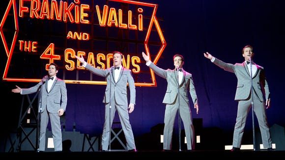 """""""The Jersey Boys"""" is the big screen adaption of the hit Broadway musical."""