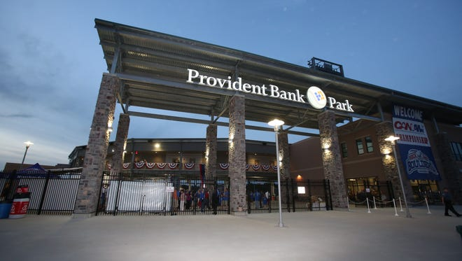 Provident Bank Park is home to the Rockland Boulders.