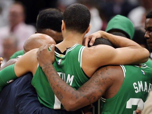NBA: Boston Celtics at Cleveland Cavaliers