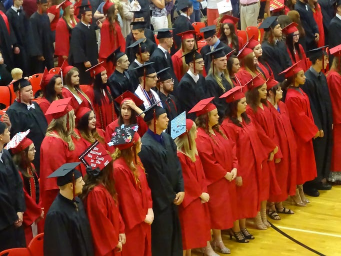 2017 Coshocton High School Commencement Ceremony.