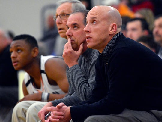 York Suburban head coach Dustin Boeckel had his letter of resignation approved by the school board on Monday night after four years as head coach of the Trojans. John A. Pavoncello photo