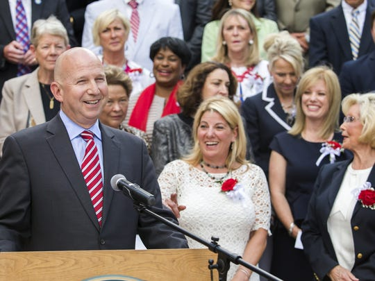 Gov. Jack Markell won some legislative victories, but lawmakers also handed him some high-profile defeats.