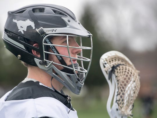 Jonah Barney, who plays lacrosse for South Western
