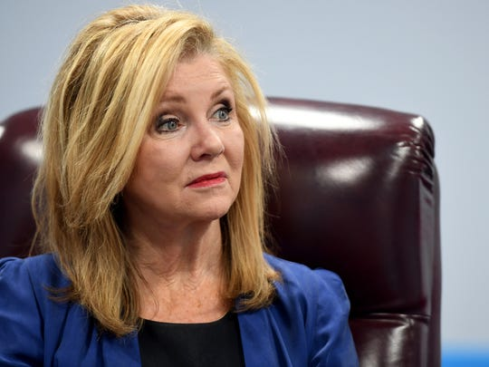 United States Senate candidate Marsha Blackburn talked about what she hopes to accomplish if elected during a visit with The Jackson Sun, Monday, June 11.