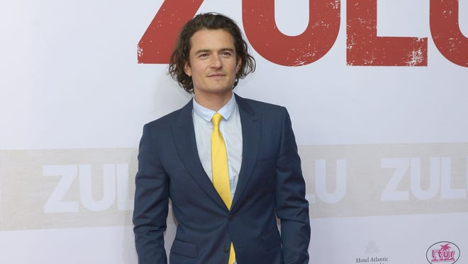Orlando Bloom on May 5, 2014 in Hamburg, Germany.