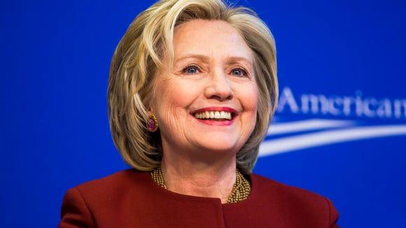 Hillary Clinton is again seeking the Democratic nomination