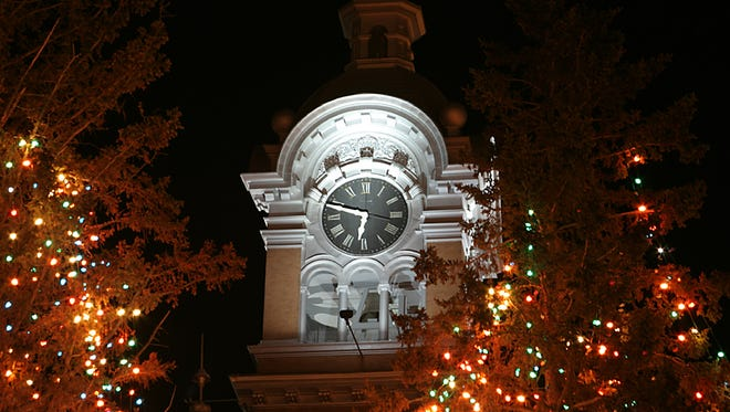 The clock tower is one of the many sights in Merrill for day-trippers to visit.