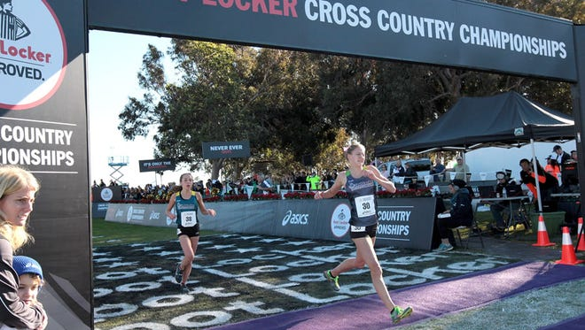 Reynolds senior Anna Vess placed 34th in Saturday's Foot Locker national cross country meet in San Diego.