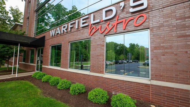 Warfield's bistro is a bit hard to find, across from Eastview Mall and up High Point Drive.