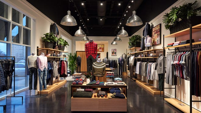 The Bonobos Guideshop gives customers a place to get fitted and try on clothing before ordering online.