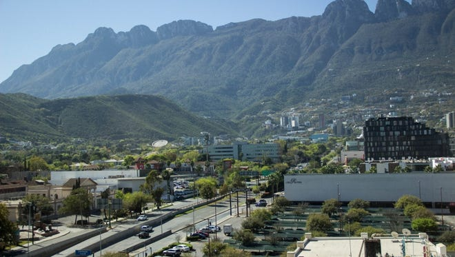 Monterrey lies north of the Sierra Madre Oriental mountain ranges. As Mexico's commercial center, it has become one of the wealthiest cities in Latin America.