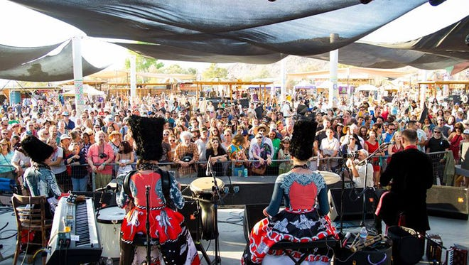 The Joshua Tree Music Festival, shown here last May, annually features a strong international lineup.