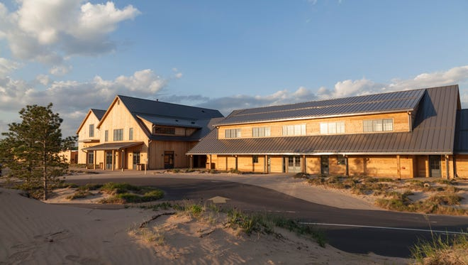 The Sand Valley Golf Resort Clubhouse in Rome