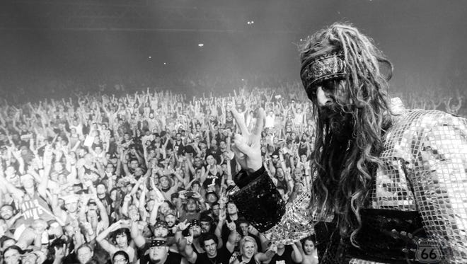 Rob Zombie is back to terrorize Louder Than Life for the second time this weekend in Champions Park.