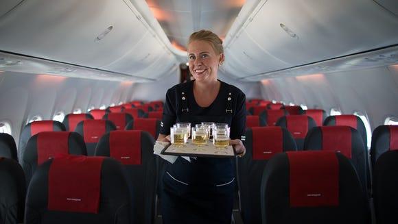 Newburgh, N.Y., to Bergen , Norway (Norwegian Air):