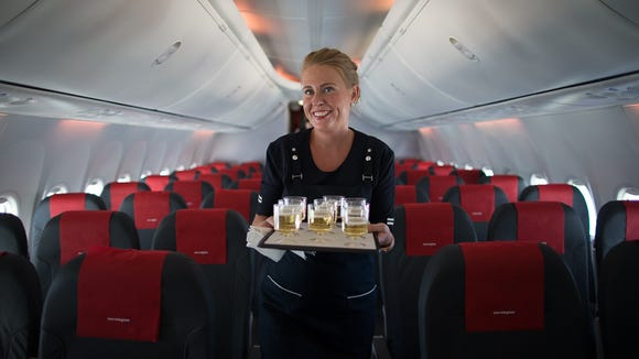 Newburgh, N.Y., to Bergen , Norway (Norwegian Air):  Norwegian Air has added nearly two dozen U.S.-Europe routes during the past two years, but few connect smaller airports than this one. This seasonal route – flown on Boeing 737 aircraft – links the southwest Norway city of Bergan to the small-but-ambitious Stewart airport, located about 70 miles north of New York City in Newburgh.