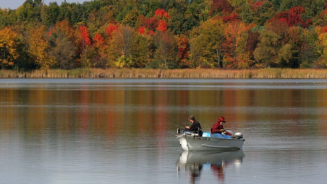 Stoney Creek Metropark is 4,461 acres of outdoor recreational opportunity – including the 500-acre Stony Creek Lake, perfect for a quick fishing trip.