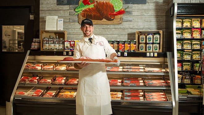 ShopRite's in-store butchers, like Sean Kearns, are experts in their craft. They take pride in preparing and presenting the freshest cuts of meat.