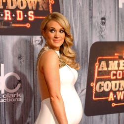 Carrie Underwood on Dec. 15, 2014.