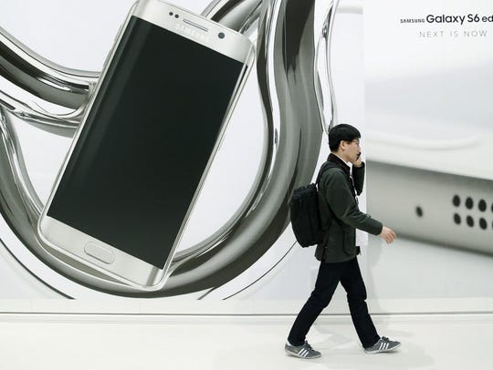 Samsung unveiled its latest phone in its battle with