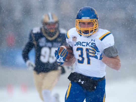 NCAA, football, men, Montana St, S Dakota St, Zach Zenner