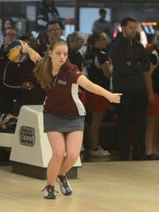 Melanie Copey, a sophomore, was an All-MEAC Bowling