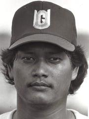Ed MesaSport: BaseballPhoto archive date April 14, 1987.