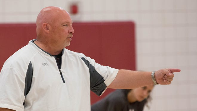 Mike Jordan begins his 20th season as New Mexico State's head volleyball coach as the Aggies travel to South Bend, Ind., for the Golden Dome Invitational.
