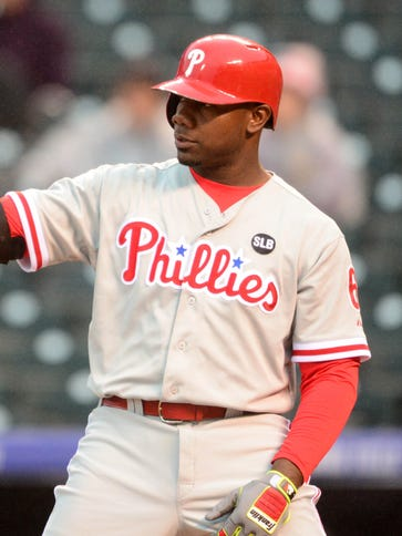 Phillies first baseman Ryan Howard took advantage of