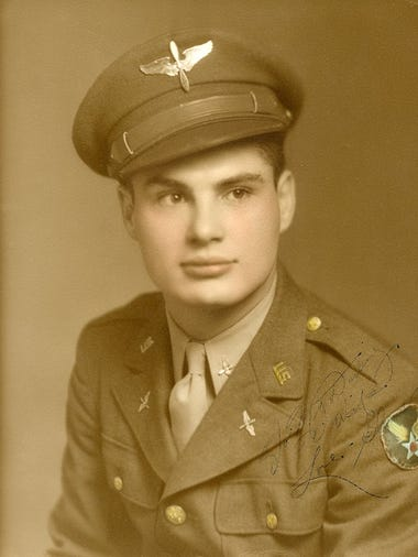 The family of Glenn Cook, a World War II veteran, is