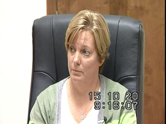 Jennifer Hairsine gave a video deposition on Oct. 20, 2015, in Rice v. Montgomery Co. civil suit.