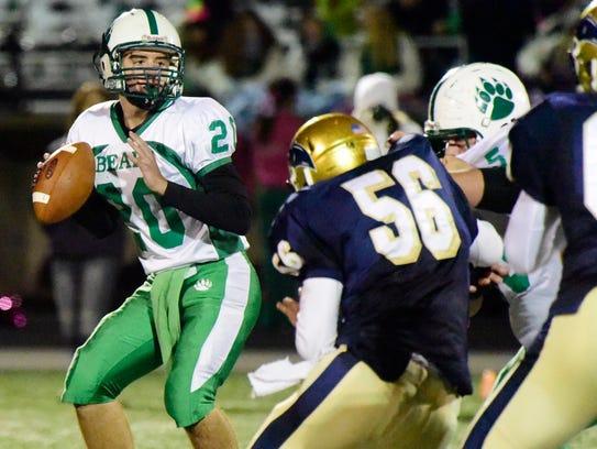 Margaretta quarterback Nick Leibacher returns as a