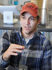 Odd Ducks Coffee owner Ted Klopf