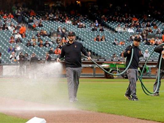 Ballpark Water Conservation Baseball