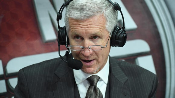 Mike Breen knows he can't control Jeff Van Gundy, and ABC's 'point guard' doesn't want to